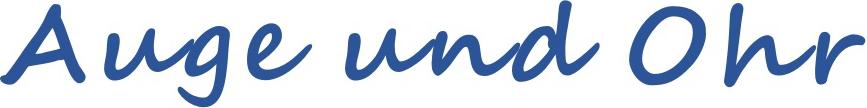Logo Auge und Ohr