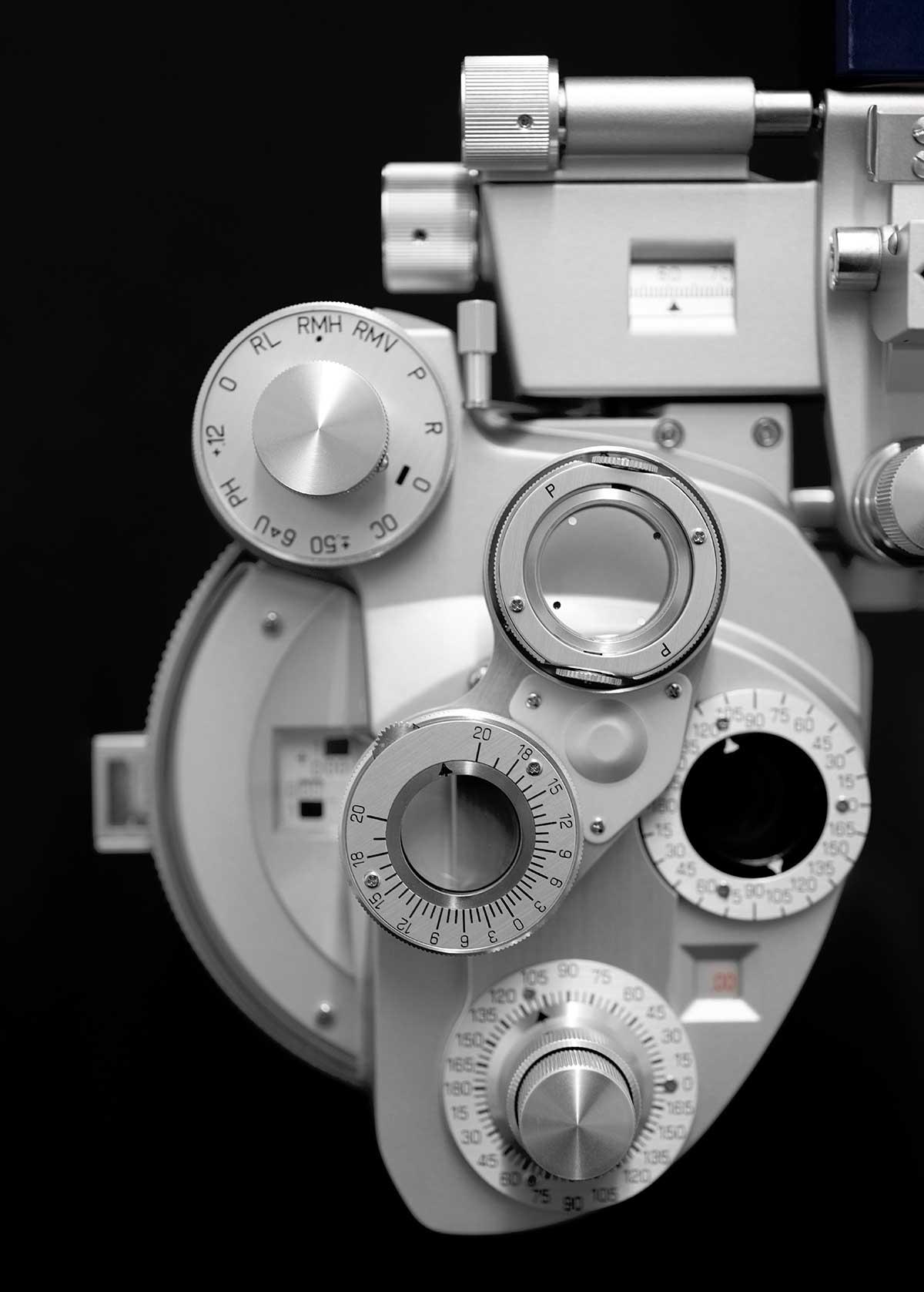 Optometrie bei Auge und Ohr